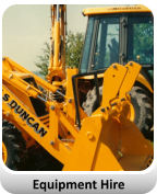 JCB Plant hire in Ayrshire, Scotland